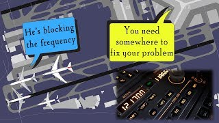 China Eastern CAUSES A MESS AT HONG KONG blocking the frequency!