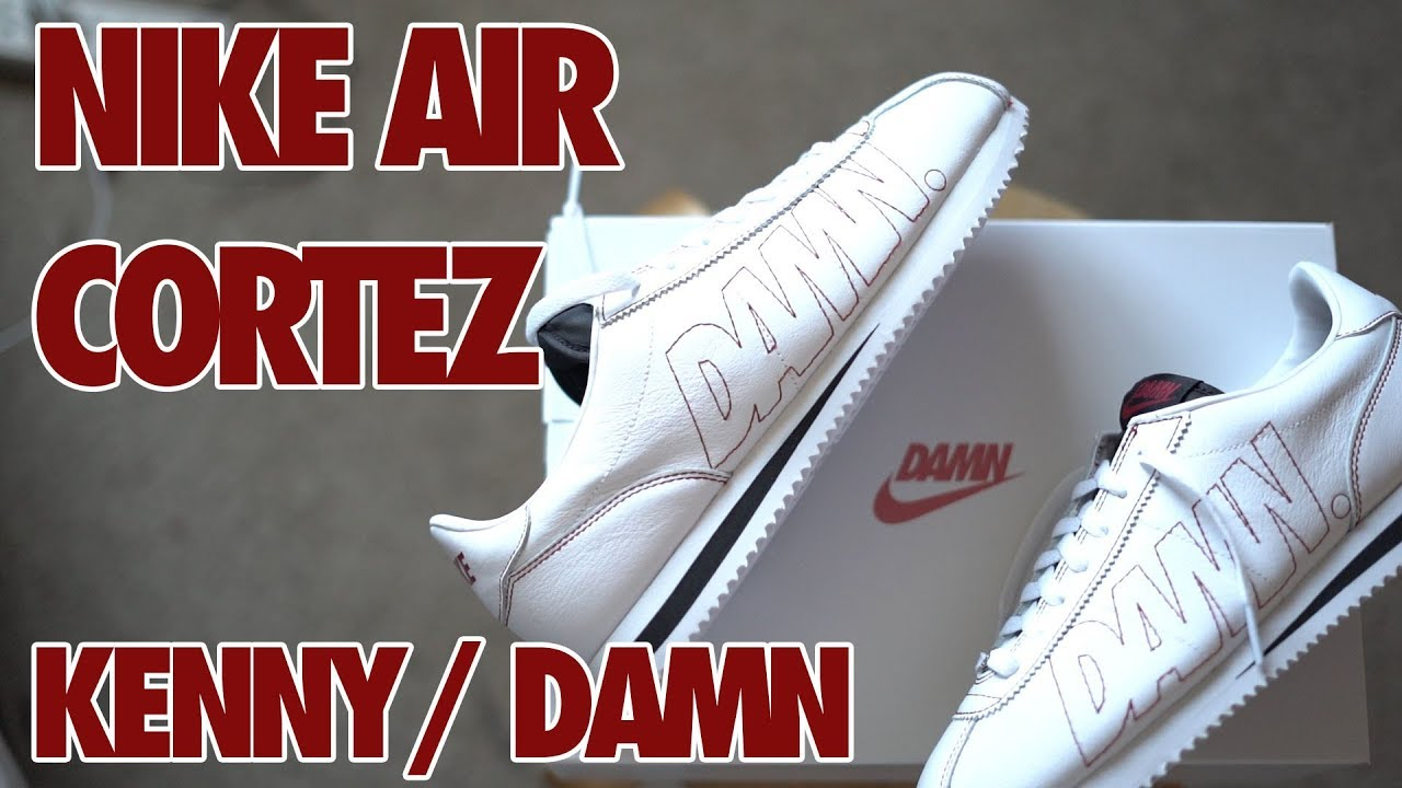 buy popular 02af3 fb232 Nike Cortez x Kendrick Lamar DAMN Review