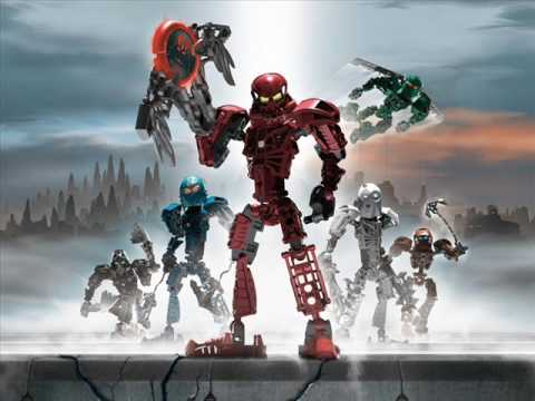 Bionicle - Face Me & Crashed
