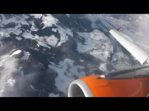 EasyJet Airbus A319-111 | London Gatwick to Innsbruck *Full Flight*