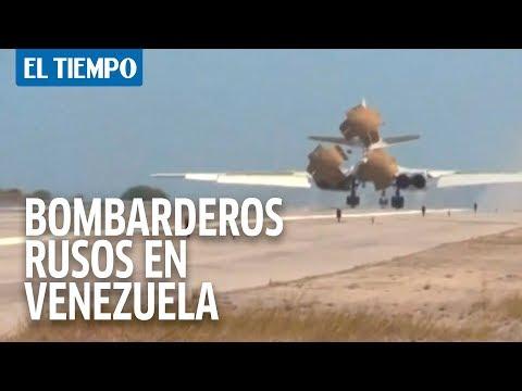 Bombarderos estratégicos rusos en Venezuela | EL TIEMPO