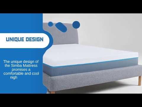 Simba Mattress Review >> Simba Mattress Double Simba Hybrid Mattress Review Youtube