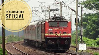 Download lagu Indian Railways all Ex Wap6 locomotives 1K subscriber special MP3