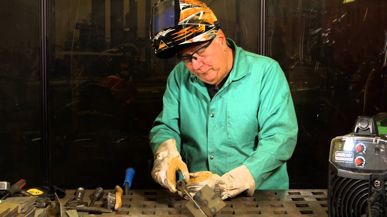 How to MIG Weld Stainless Steel to Mild Steel | MIG Monday - YouTube