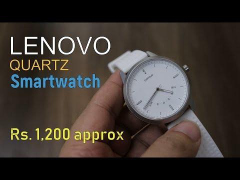 Lenovo Watch 9 Quartz Smartwatch for just...