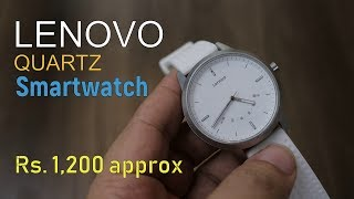 Lenovo Watch 9 Quartz Smartwatch for just Rs. 1,200 (limited Period)