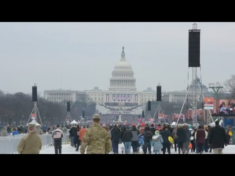 58th Presidential Inauguration,more than 7,500 National Guard Soldiers and Airmen