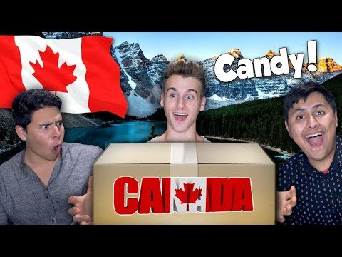 Americans React To Canadian Candy!