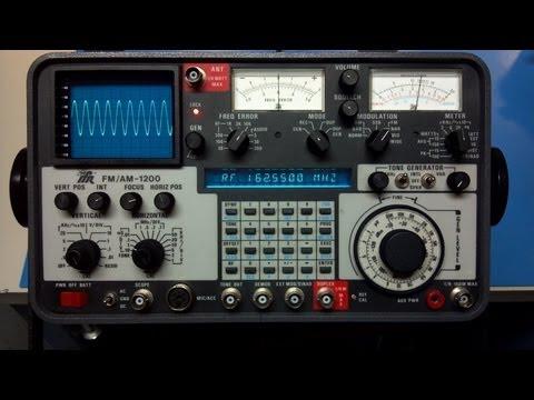 IFR 1200 Demo - Modulation Check