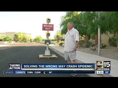 Mesa company develops possible solution to wrong-way driver problems on Valley freeways