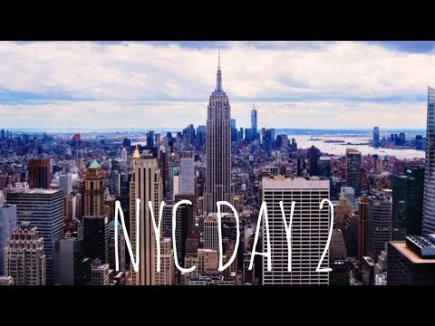 NYC TRAVEL VLOG #2 : Wall Street, Soho, Mini Zara Haul | RubyGillett