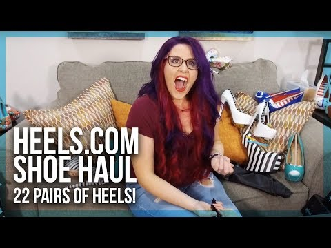 High Heel Unboxing Haul - Taylor Says Brand