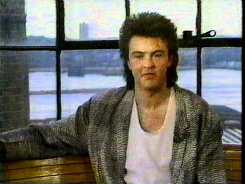 Paul Young rare Interview Clip (1985) Part One