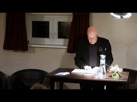 """Dr. Frank Böckelmann Am 17.11.2017: Walter Kempowski – Und """"Unser Herr Böckelmann"""""""