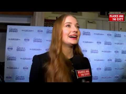 Game of Thrones Sophie Turner Interview - Joffrey, Justin Bieber, Sansa & Cersei