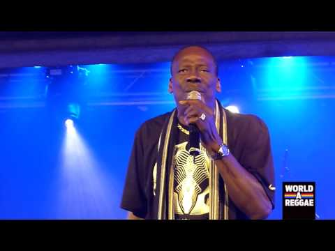 Leroy Sibbles (Heptones) Live at 'Jamaica Jamaica' Antwerp Part 1