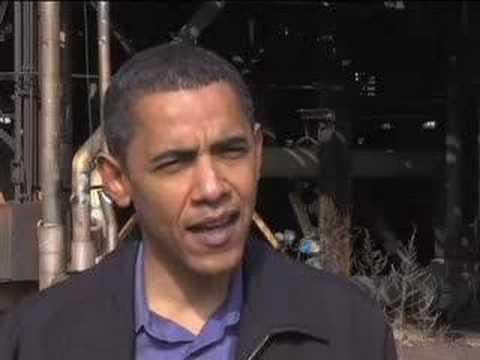 Barack Obama on community organizing