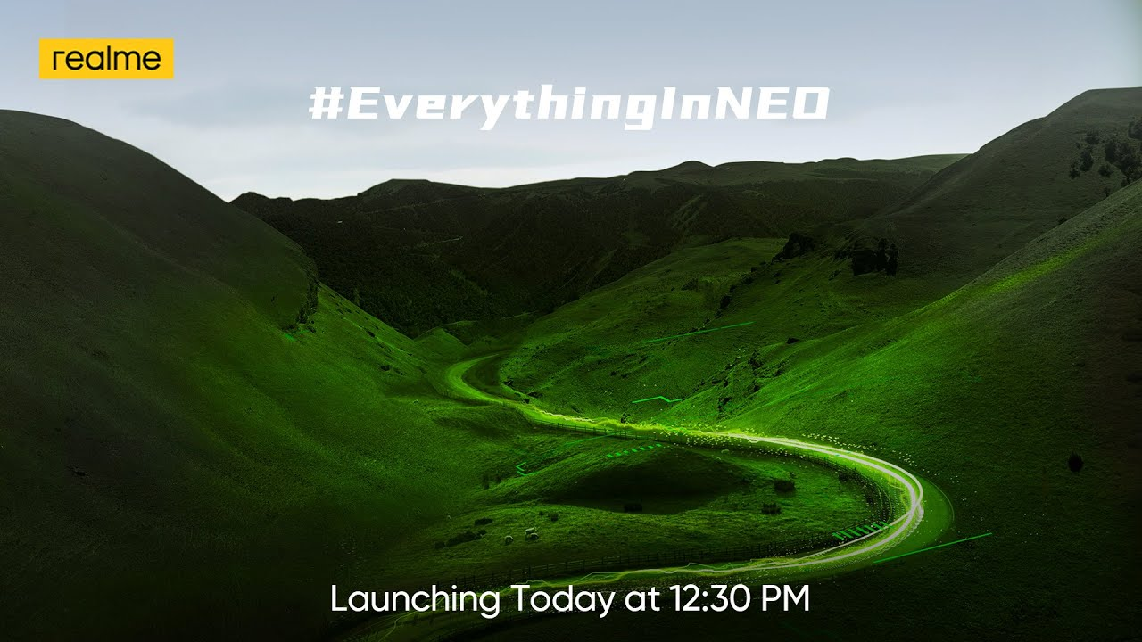 Download realme GT NEO 2   Launch Event