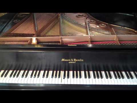 """Out of Africa"" on the Stahnke LX & Mason & Hamlin Grand Piano"