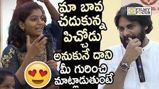 Young Girl Superb Words about Pawanism and Pawan Kalyan Craze in US...