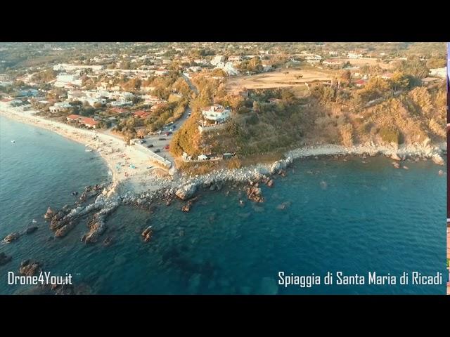 Drone 4k - Calabria - Spiaggia di Santa Maria di Ricadi