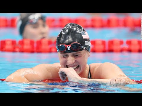 Katie Ledecky inspired to 'put a smile on someone's face' as she ...
