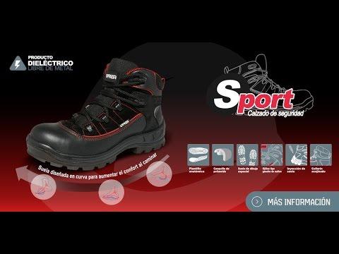 Botas de protección o seguridad Dieléctricas Sport Urrea
