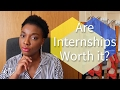 PROS & CONS OF FASHION INTERNSHIPS | LIFE OF A FASHION STUDENT
