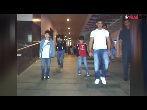 Hrithik Roshan matching steps with son; Watch adorable video | Filmibeat
