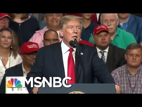 Donald Trump's White House Is In 'The Eye Of A Political Hurricane' | The 11th Hour | MSNBC