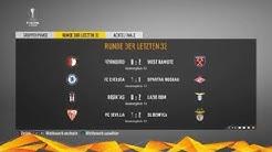 EUROPA LEAGUE Ergebnisse nach Round of 32 Rückspiel