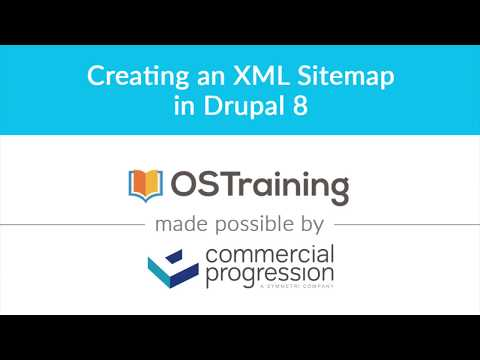 Lesson #7: Creating an XML Sitemap in Drupal 8