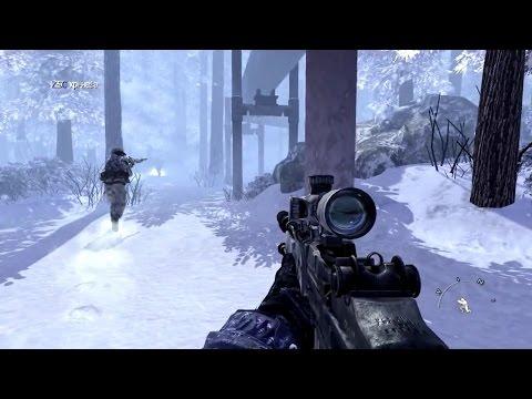 Очень Ностальгичная Снайперская Миссия из Call Of Duty Modern Warfare 2