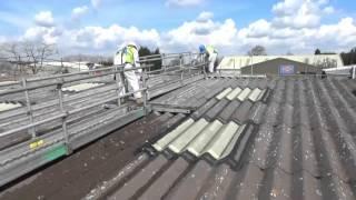 Spandeck Asbestos Roof Access