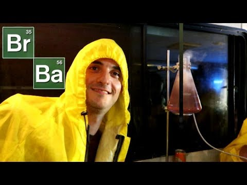COOKING COCKTAILS at a BREAKING BAD BAR in New York City 🍸