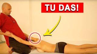 Nacken und Rückenmassage Anleitung für Anfänger - von Ulf Pape
