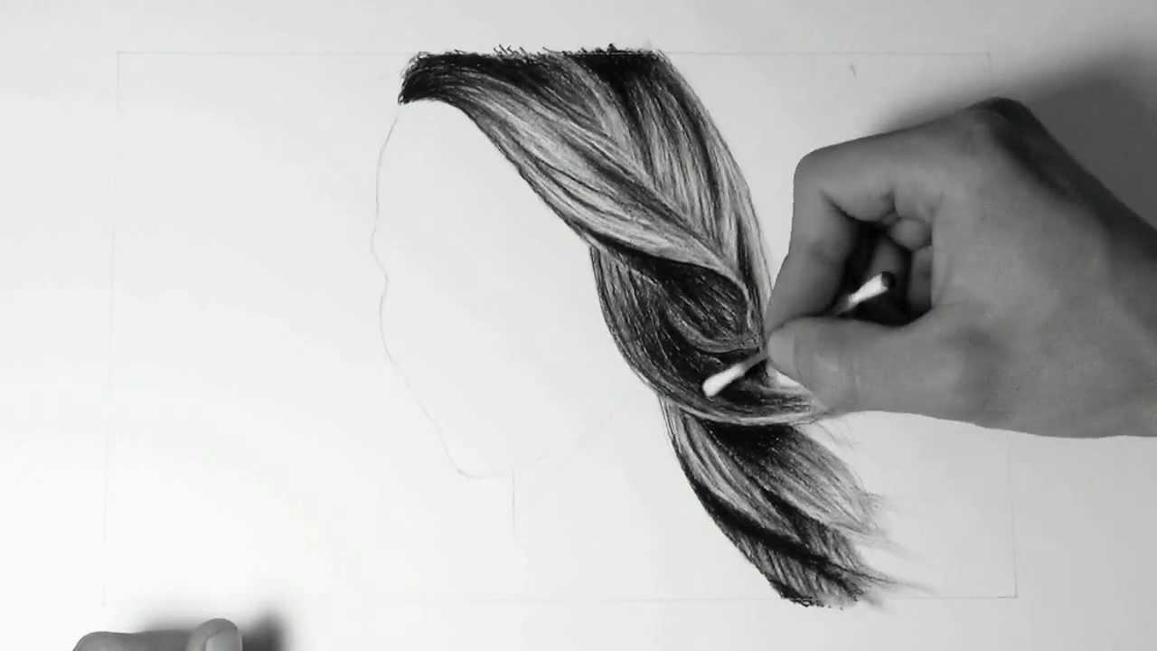 French braid drawing