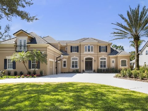 LUXURY HOMES | BAY HILL GATED WATERFRONT ESTATE | ORLANDO FLORIDA