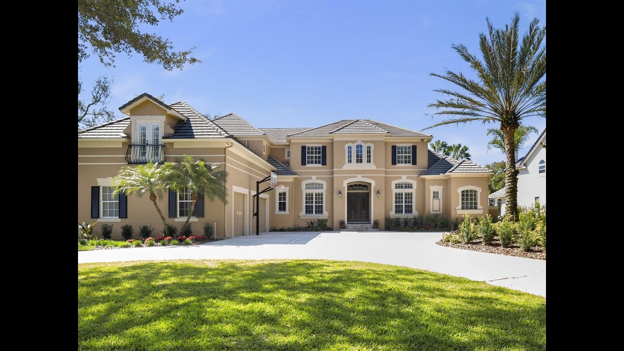Luxury homes bay hill gated waterfront estate orlando for Upscale homes