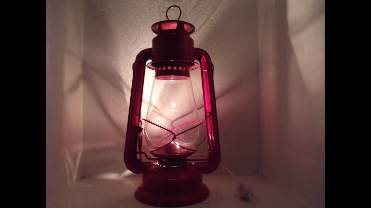 Dietz junior no 20 lantern converted to electric lamp youtube 20 lantern converted to electric lamp arubaitofo Images