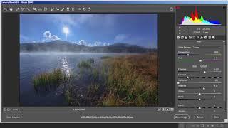 Обработка пейзажа в программе Photoshop. Теория и практика