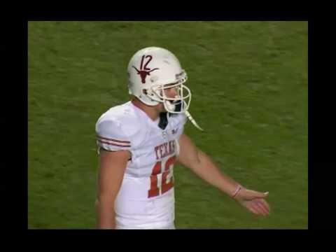 Colt McCoy 65 yard TD run against Texas A&M 11/26/2009