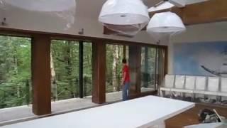 видео Деревянные окна в коттедж