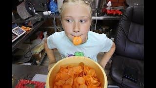 морковные чипсы   вкусная и полезная заготовка на зиму