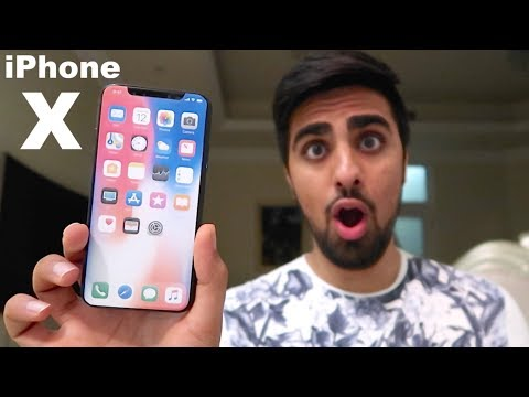 THE IPHONE X !!!!