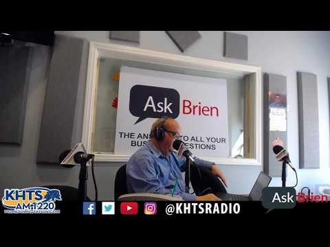 Ask Brien - September 28, 2017 - KHTS - Santa Clarita