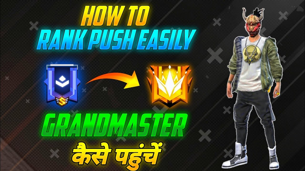How to push Grandmaster Easily || Global Rank push tips and tricks