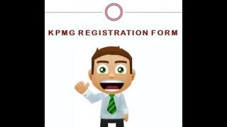 kpmg registration form submission