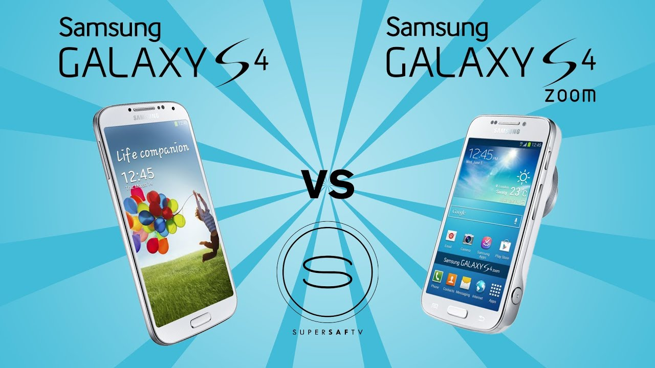 Samsung S4 Zoom Vs S4 Samsung Galaxy S4 Zoom...