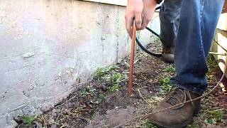 Ground Pipe - Water drill